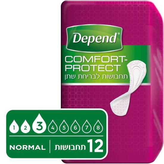 תחבושות  Comfort-Protect לבריחת שתן, נורמל