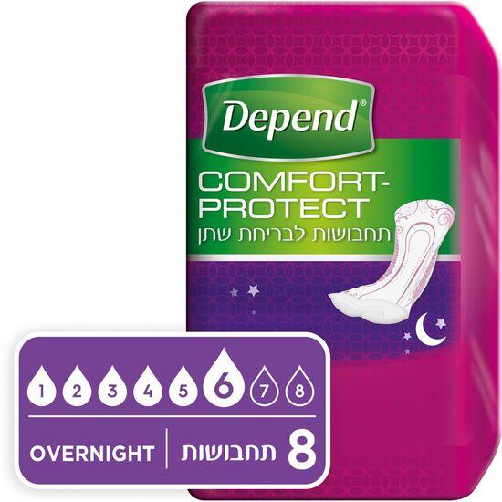תחבושות  Comfort-Protect לבריחת שתן, אוברנייט