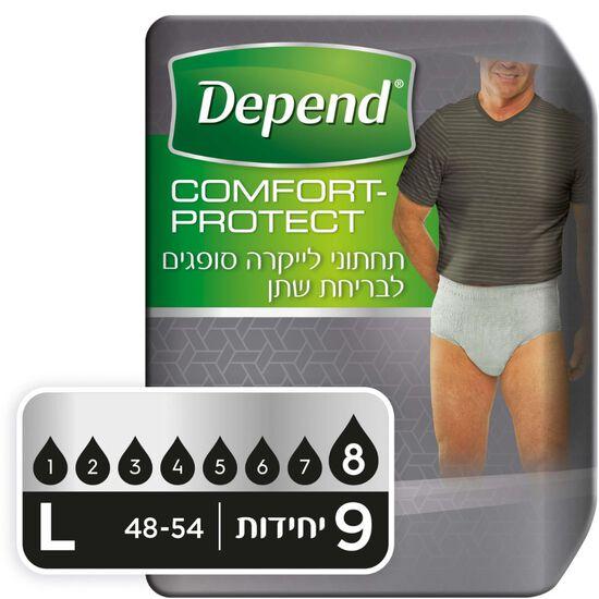 תחתונים סופגים Comfort Protect  לגברים, מידה L
