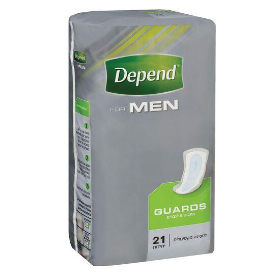תחבושות לבריחת שתן לגברים